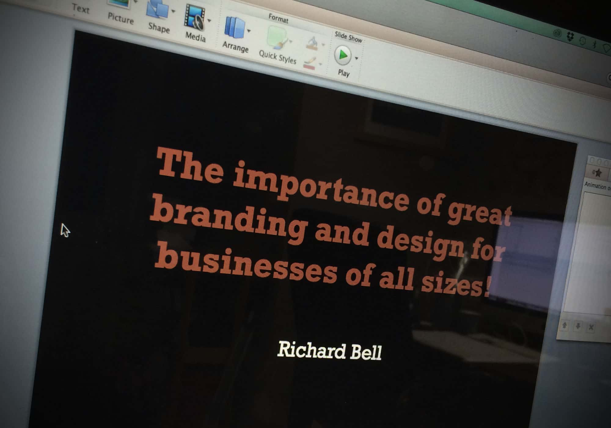 The importance of great branding and design for businesses of all sizes!