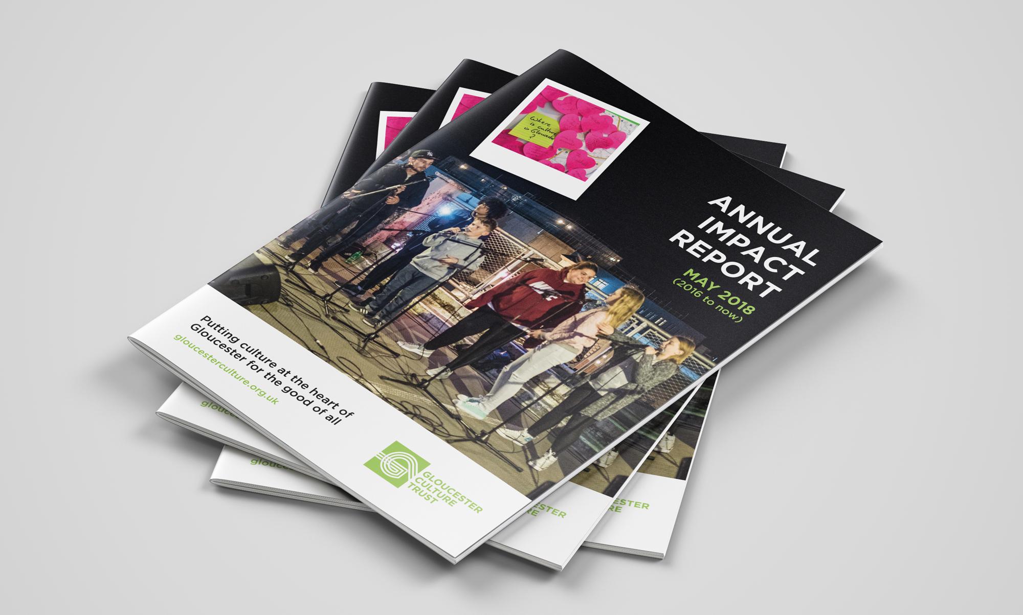 Charity Impact Report Design/Print