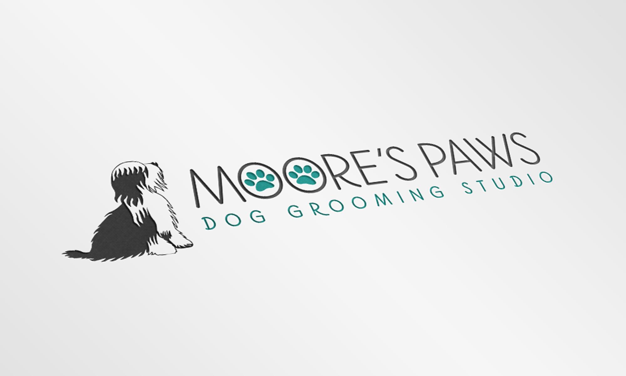 Logo Design for Dog Groomers