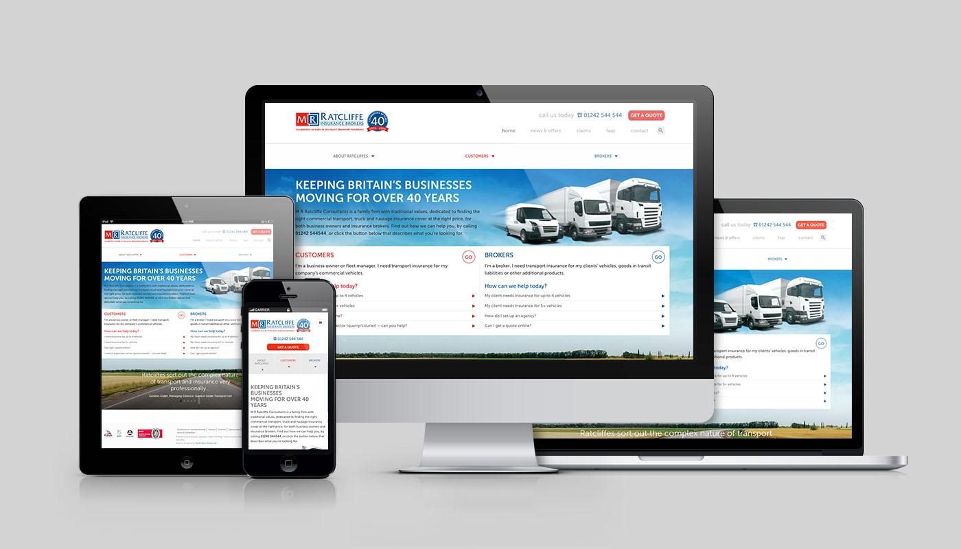 Insurance Broker Website Design & Development