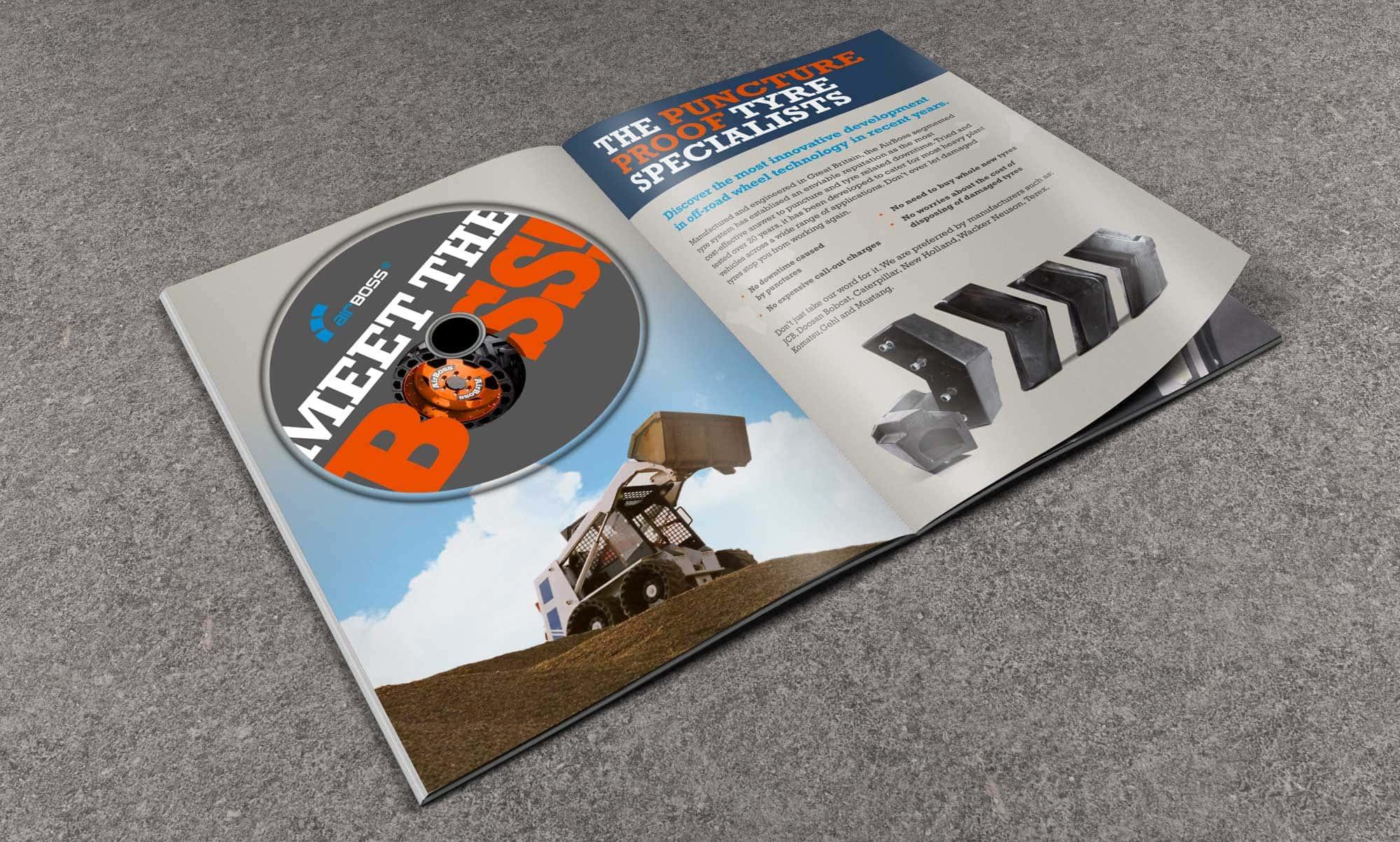 DVD Presentation Folder Design - Airboss