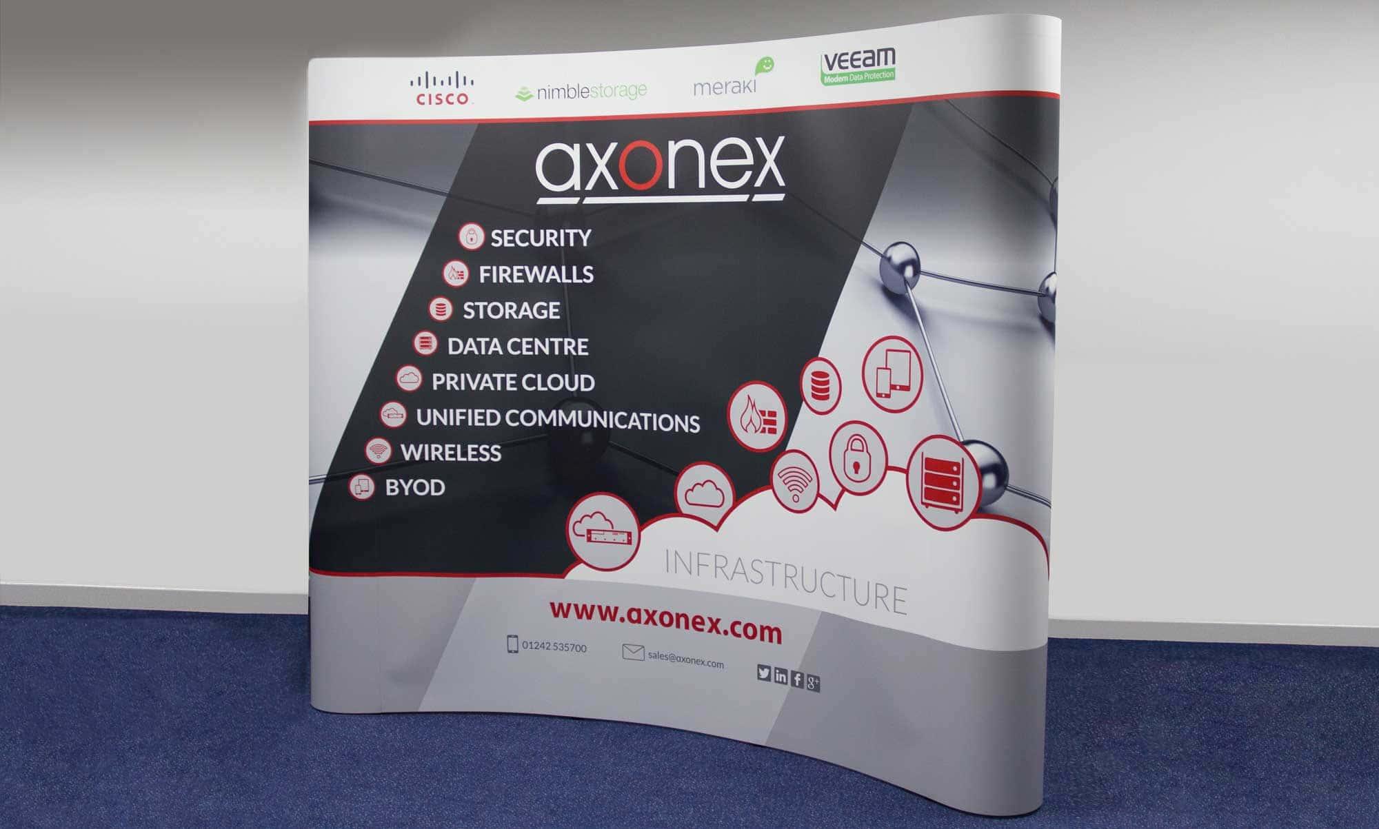 Pop Up Banner Design and Print - Axonex