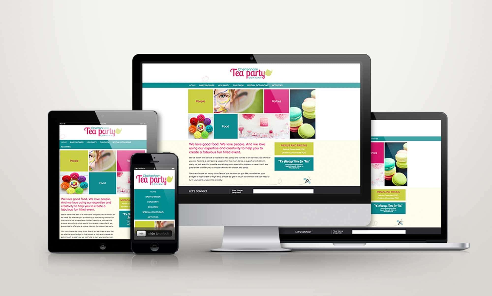 WordPress Theme Development - Cheltenham Tea Party