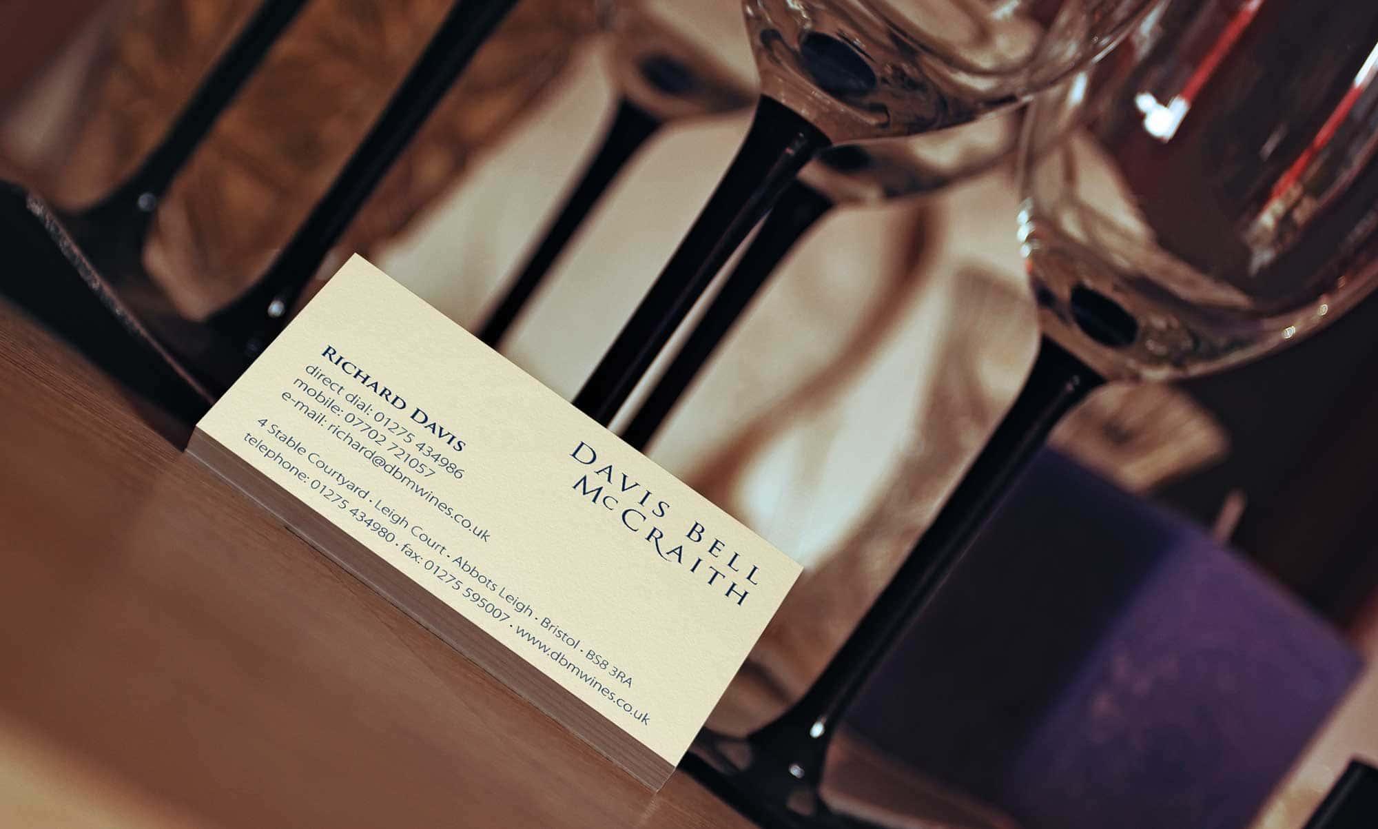 DBM Wine Branding