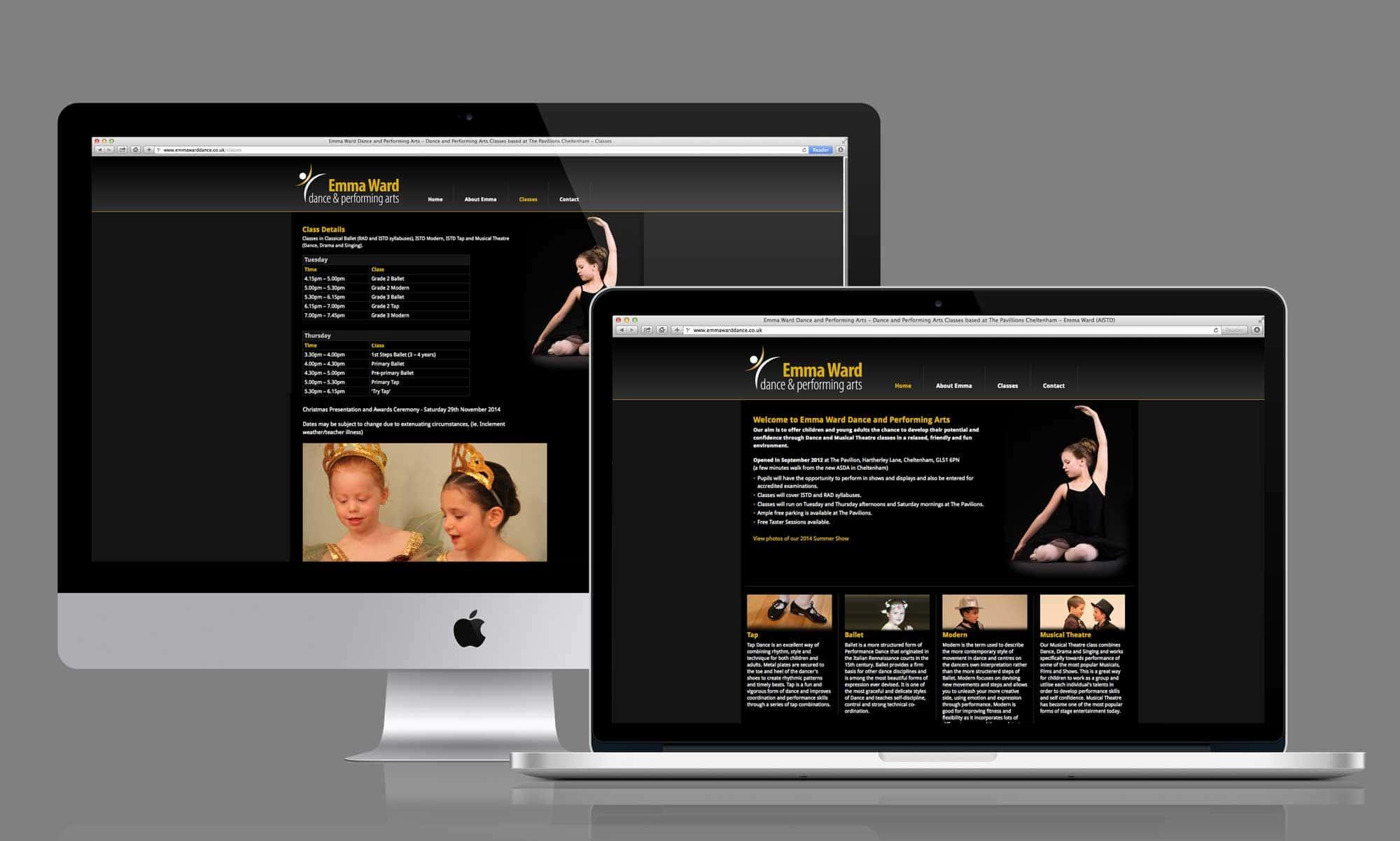 Joomla Website Development - Emma Ward