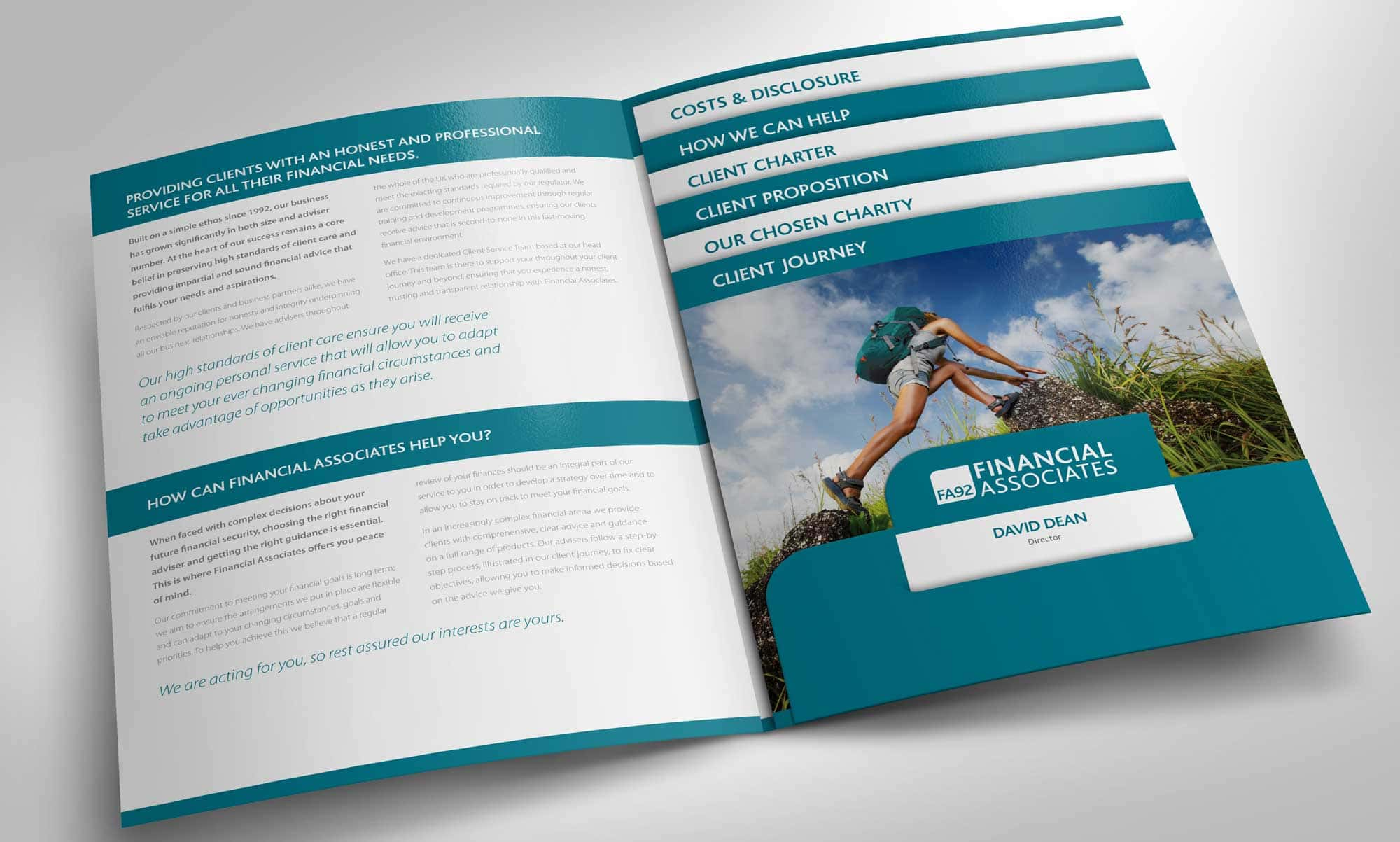 Bespoke Corporate Folder Design - FA92