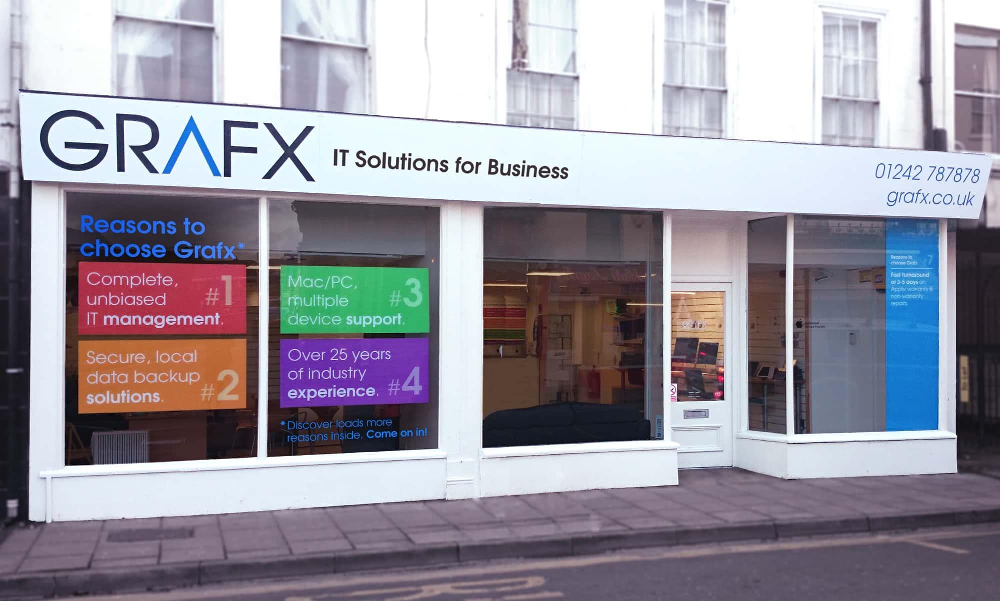 Grafx external signage