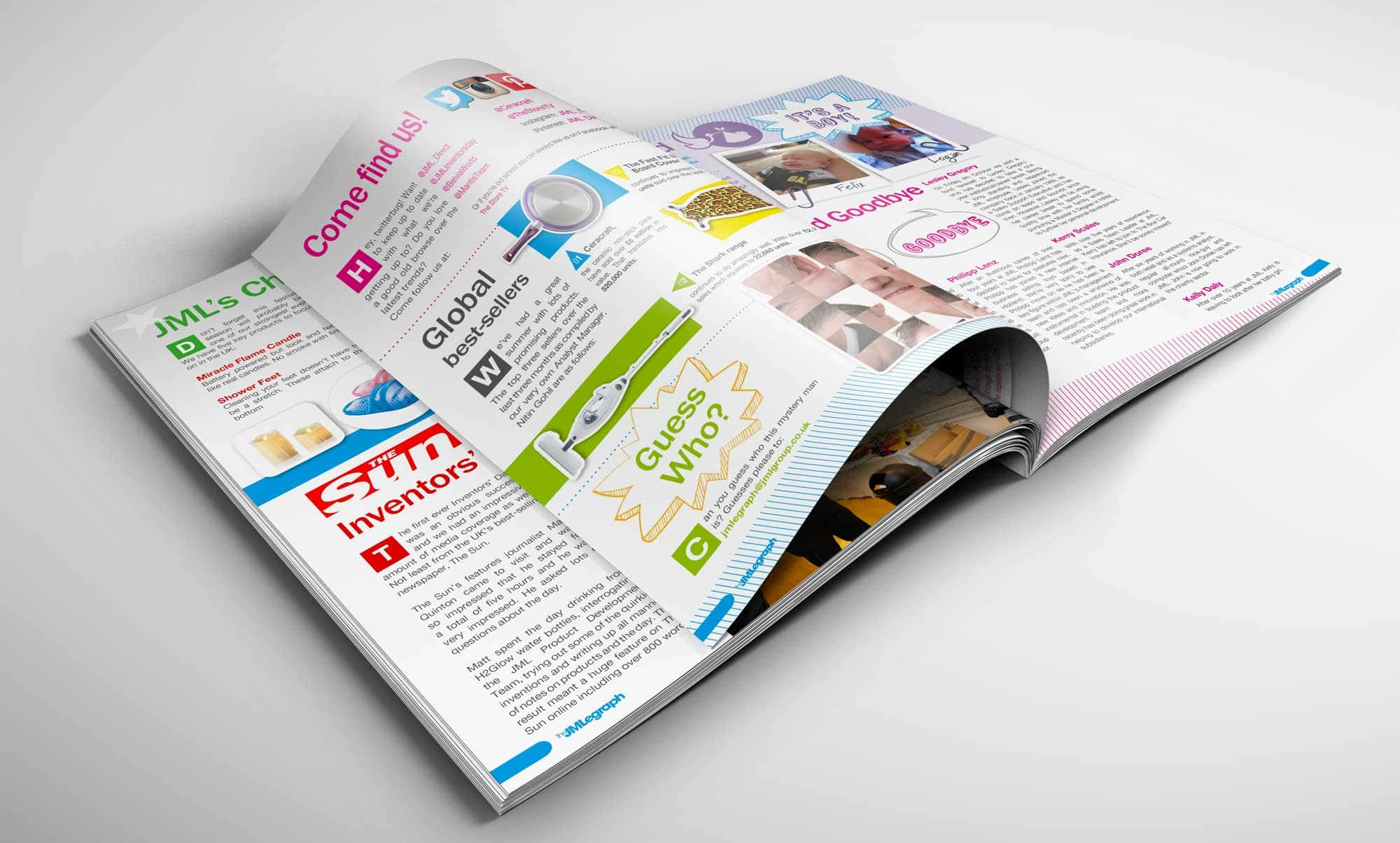 Internal Magazine Design - JML Direct