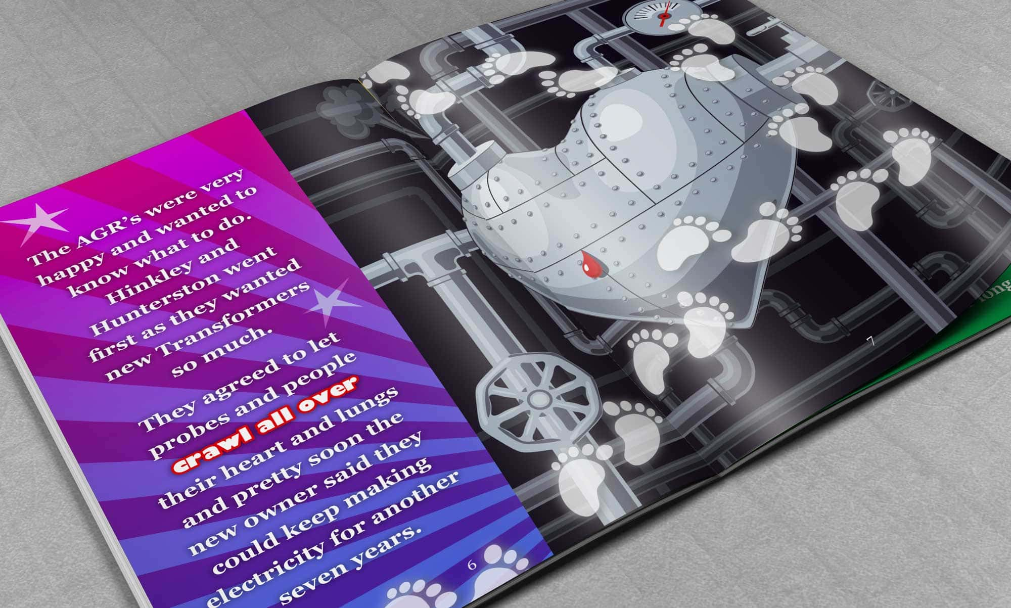 Brochure/Booklet Design - EDF Energy