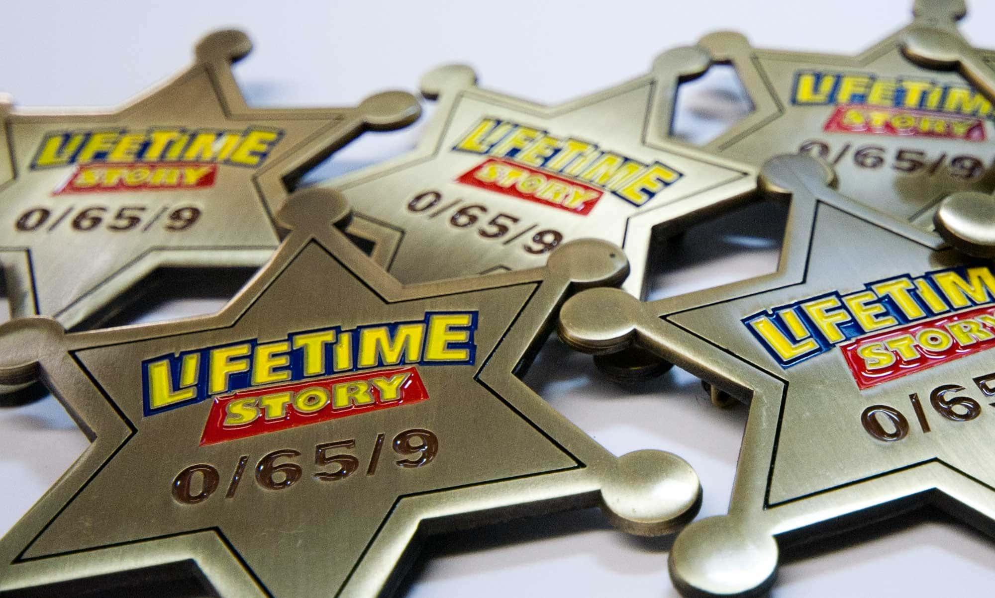 Bespoke Badge Design and Production - EDF Energy