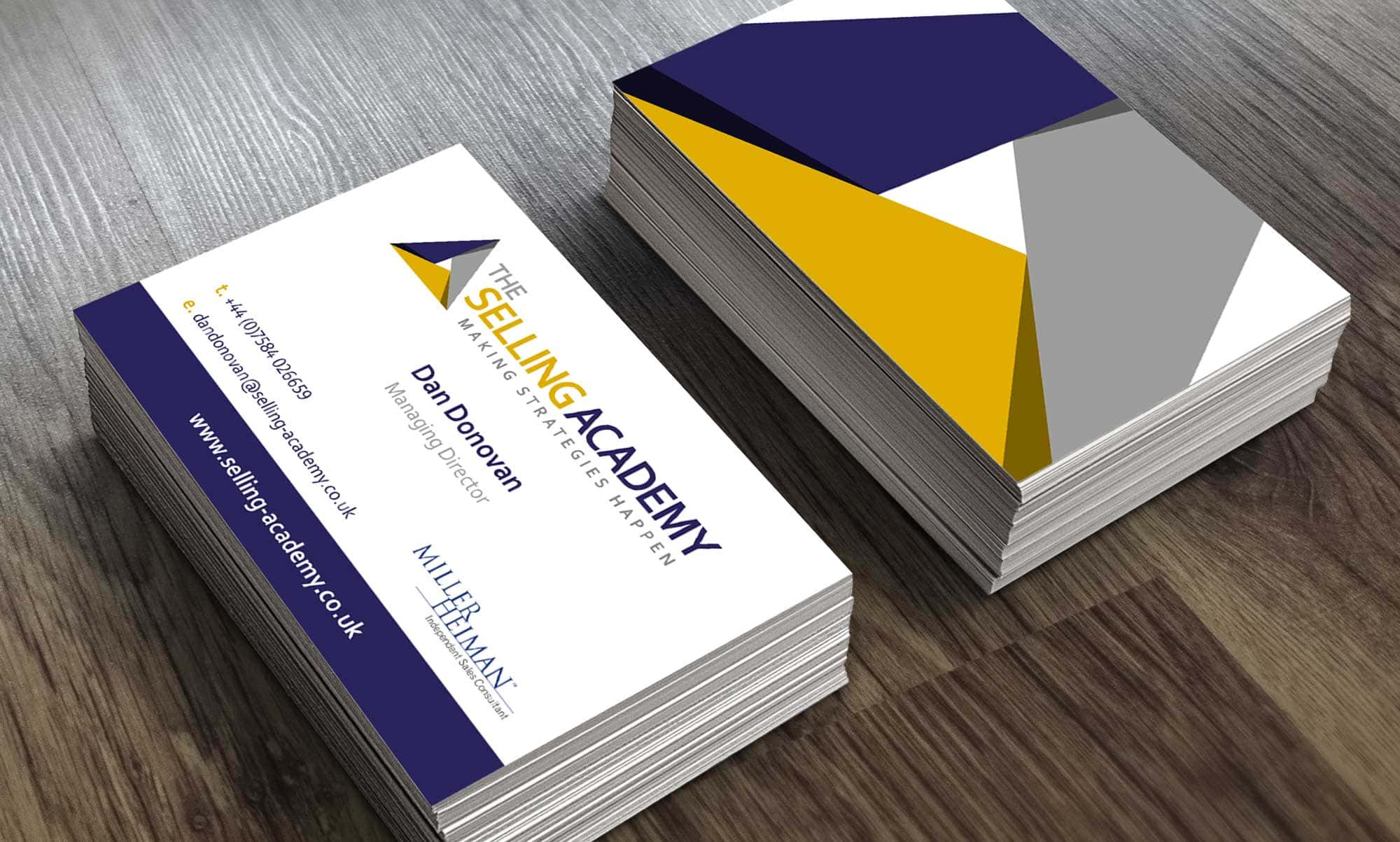 The Selling Academy branding