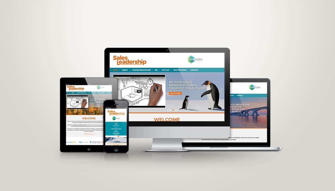 Custom Website Design and Development for Sales Industry
