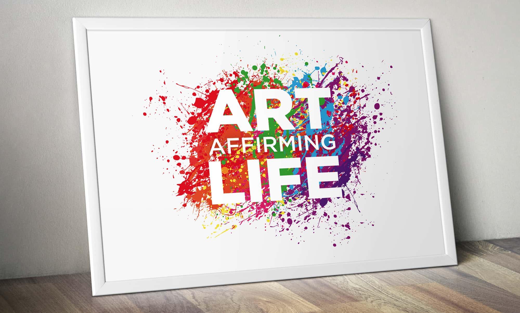 Sue Ryder Art Exhibition Branding