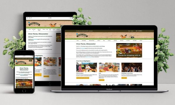 Website Design for Farm Shop
