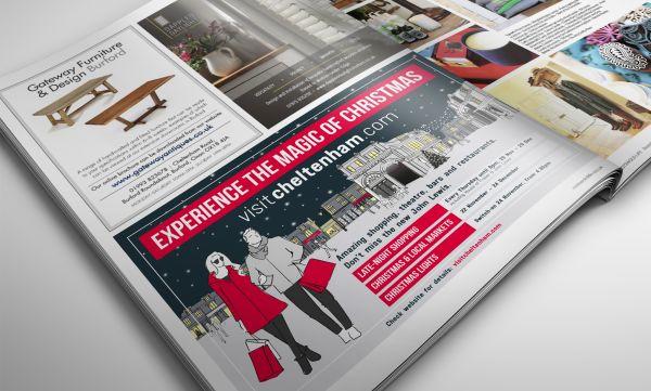 Christmas Advertising Campaign Design in Cheltenham