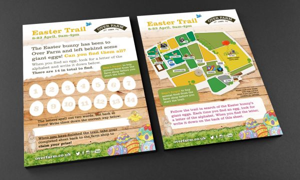 Map/Trail Activity Sheet (Easter)