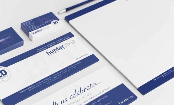 Hunter Page Planning corporate branding design