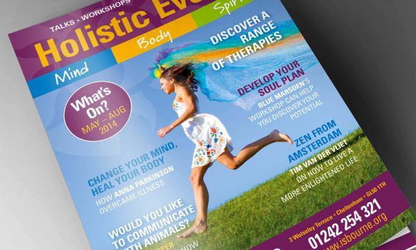 Event Guide Design - Isbourne Foundation