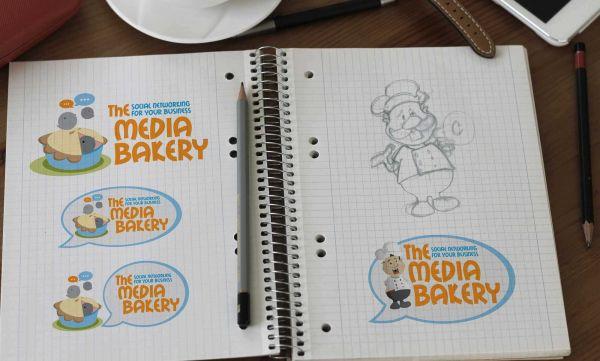 The Media Bakery branding