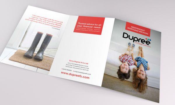 Financial Services Leaflet Design
